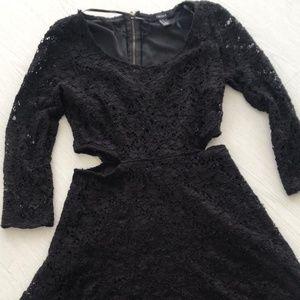 Black Dress Midi